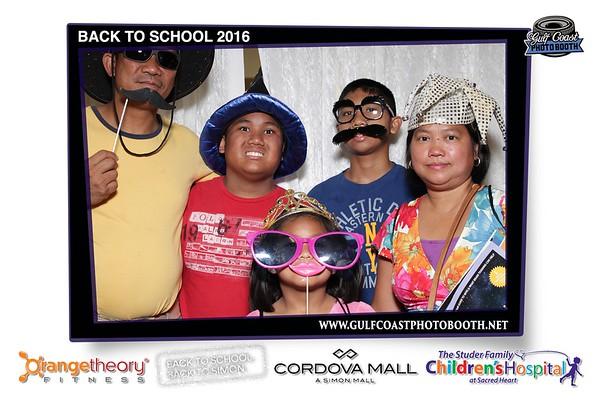 Cordova Mall Back to School 2016