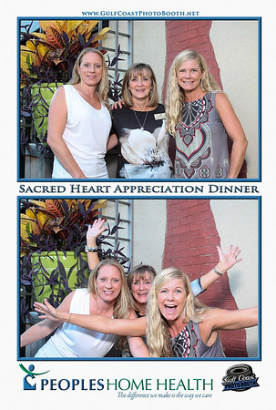 Peoples Home Health Photo Booth Prints