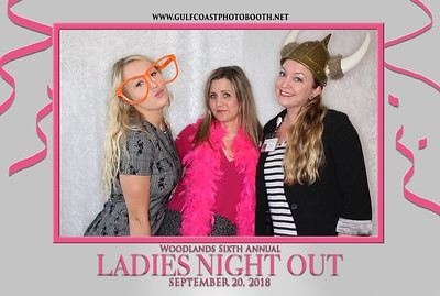 Woodlands Medical Specialists at our Sixth Annual Ladies Night Out