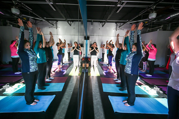 Prana Yoga Studio - Wounded Warrior Project Class