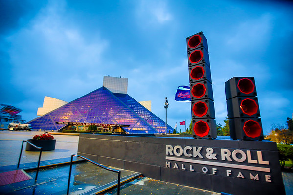 Rock & Roll Hall of Fame Cleveland - Fall Layout