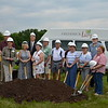 John & wife Sue at Meadows groundbreaking with future Meadows residents