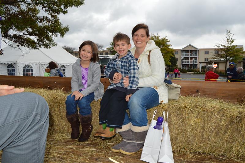 Denise Huber staff & children Paige & Miles