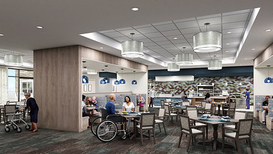 Interior Rendering - Welcome Center Dining