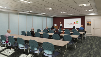 Interior Rendering - Welcome Center Classroom