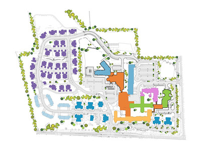 Frederick Living_Campus Plan_Phase 1
