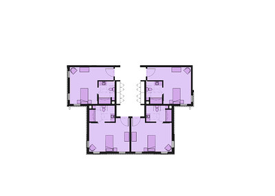 Frederick Living_Skilled Nursing - Resident Room Plan