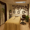 Massage therapy room here
