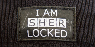 I Am SherLocked Badge