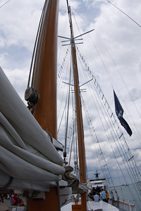 CMEG ISVs on Tall Ship Windy 20090716-1502