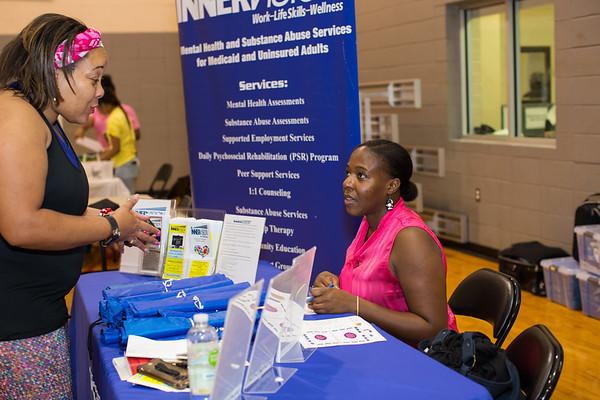 YMCA- Simmons Community Health Fair