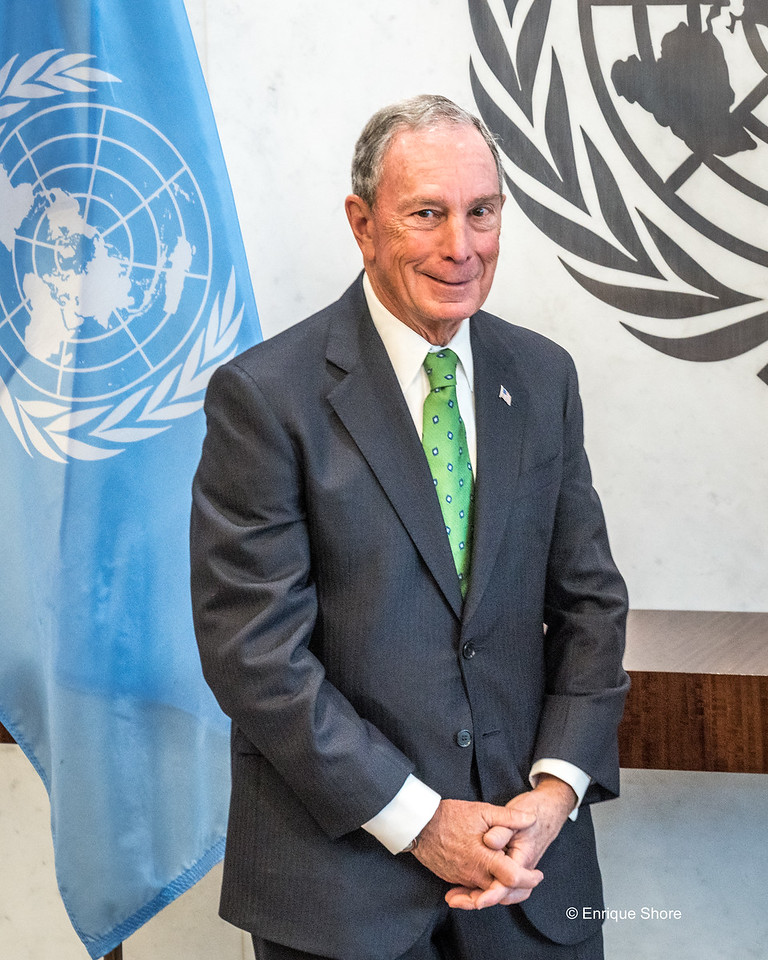 UN Special Envoy for Climate Action Michael Bloomberg