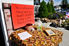 A sign asking for donations at a garage sale organized by Rebecca Taylor and Pat Haven to help fix a mold problem caused by missing attic vents on the home of Bryan and Taunya Bingham. (ROBBY LLOYD/Special to the Standard-Examiner)