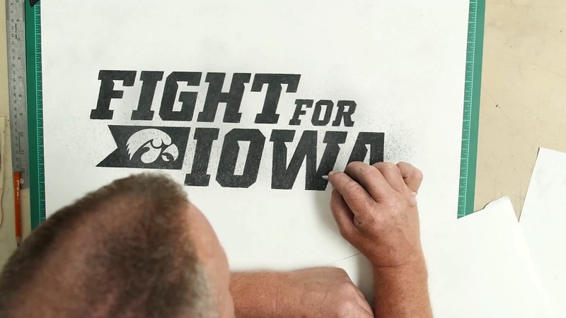 Fight for Iowa Campaign - Logo Animation