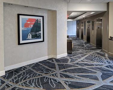 Hyatt Conference Center Hallway