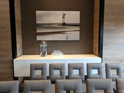 """""""Ocean Waves"""" in Conference Center Meeting Room"""