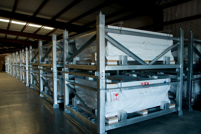 Delivery of NaS battery to Marfa for storage