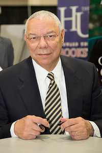Colin Powell at the CBC book signing
