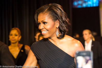 Michelle Obama , the Keynote speaker at the Congressional Black Caucus