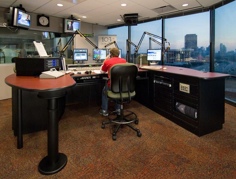 KVIL-FM studio.