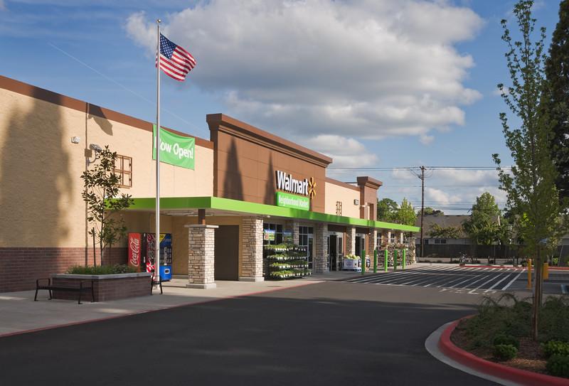 Walmart Neighborhood Market, Hillsboro, OR  Client:  Robinson Construction, Hillsboro OR