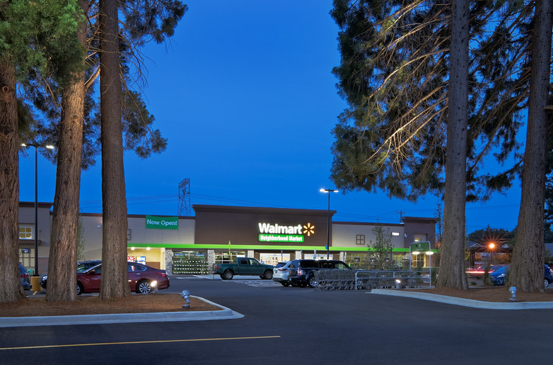Walmart Neighborhood Market, Hillsboro, OR  Client:  Robinson Construction, Hillsboro OR