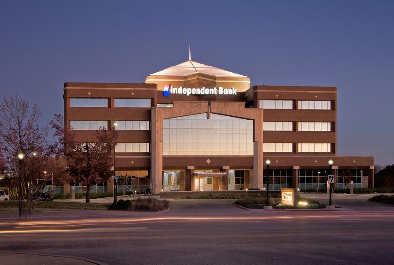 Clients:  Jim Wilson Architects, McKinney, TX & Independent Bank, McKinney, TX.