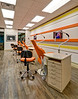Orthodontist's Clinic, Fort Worth.  Clients:  Interior Design Group, Arlington TX & Nader Design Group, Fort Worth.