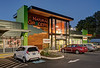 Remodeled  shopping center at Powell & Caesar Chavez in east Portland.
