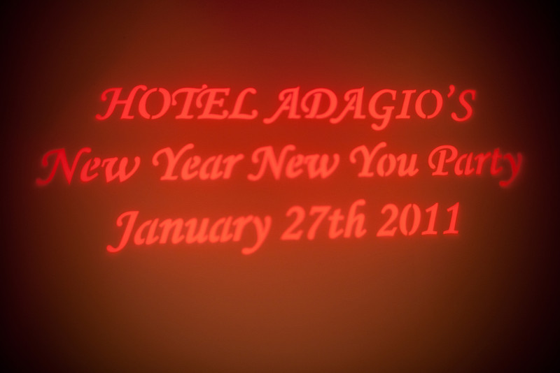 2011.01.27 Hotel Adaggio New Year New You Party San Francisco, CA
