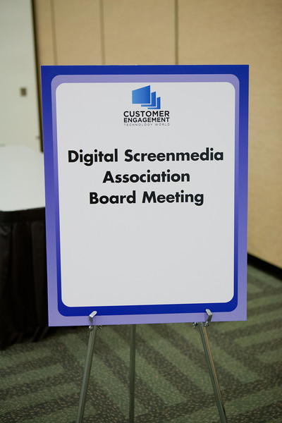 2012.03.27 Digital Screenmedia Association Board Meeting
