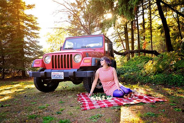 Ana & Her Jeep