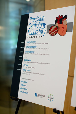 Bayer Precision Cardiology Laboratory Symposium at the Broad Institute June 29, 2018.