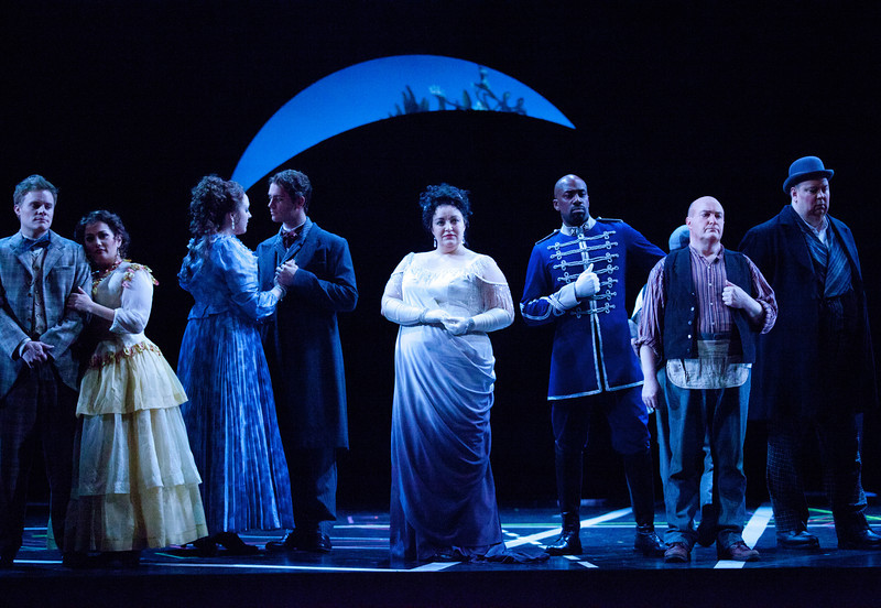 4/27/11 Boston, Mass. - A dress rehearsal for Benjamin Britten's A Midsummer Night's Dream, at the Shubert Theatre in Boston, Mass. April 27, 2011.  Photo by Erik Jacobs for the Boston Lyric Opera.