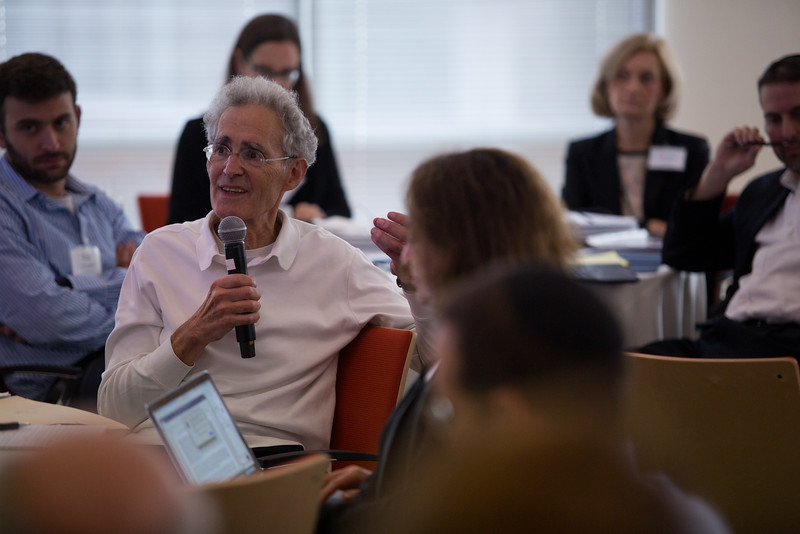 9/27/16 Cambridge, MA -- Meeting to discuss the formation of the Israel Precision Medicine Institute at the Broad September 27, 2016.  Erik Jacobs for the Boston Globe