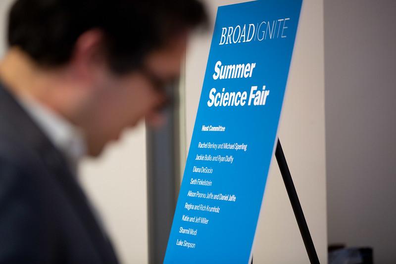 6/14/18 Cambridge, MA -- BroadIgnite Summer Science Fair June 14, 2018.  Photo by Erik Jacobs