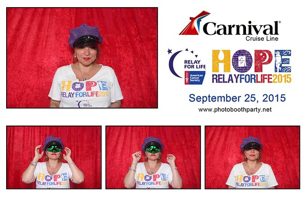 Carnival Cruise Line & Relay for Life 2015