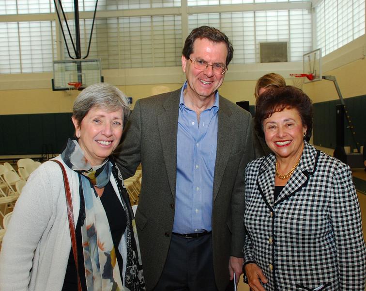 Congresswoman Nita Lowey poses with friends.
