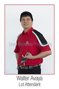 8x12 Walter Avaya-Toyota Lot Attendant