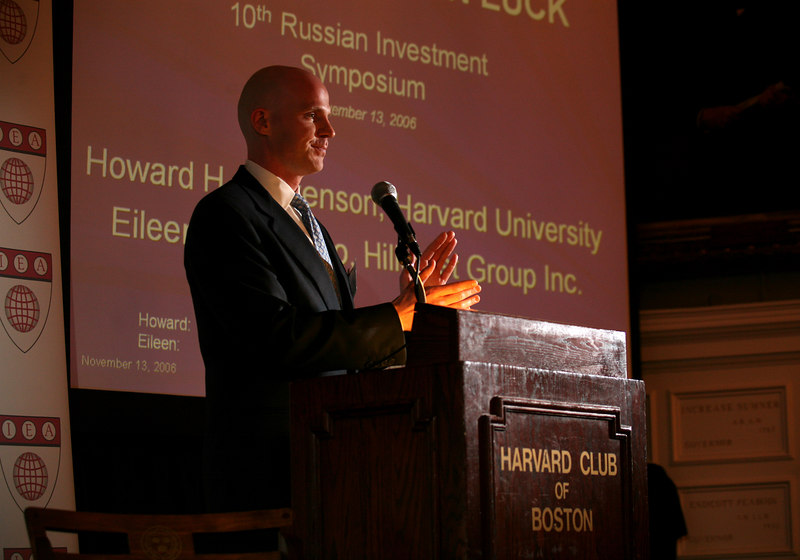 Boston, MA 11/13/06 --  10th Annual Russian Investment Symposium at the Harvard Club of Boston.  Photography by Erik Jacobs/Jacobs Photographic