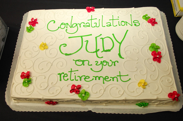 Judy Palmer HAL Retirement HAL Cake Lido