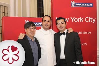 Joshua Hermias (Minibar), Rubén García (ThinkFoodGroup), and Jhonatan Cano (Minibar)