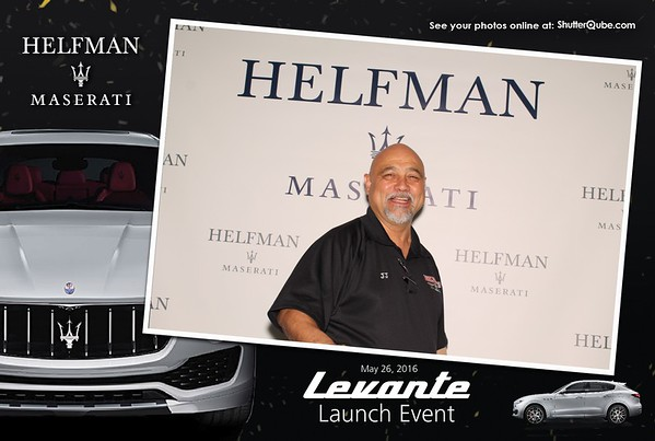 Maserati Levante Launch Event
