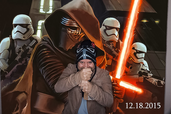 MasterCard Star Wars Party 2015