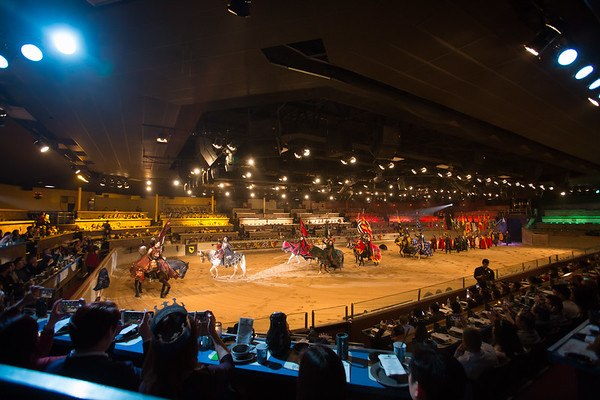 Ono Medieval Times Show 1/16/17