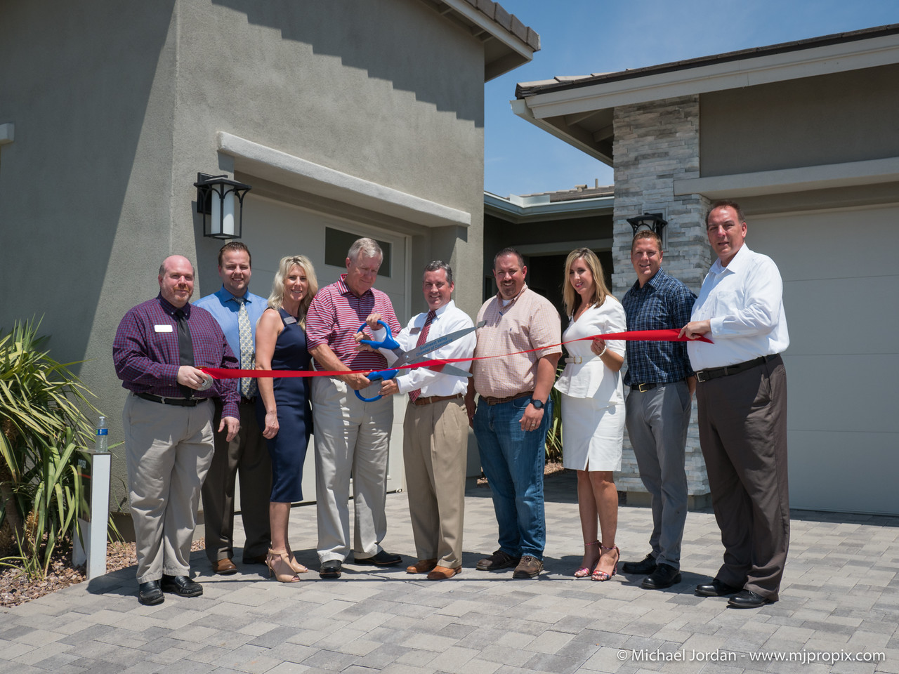 The Grand Opening of the Richmond Homes - Sunset Terrace