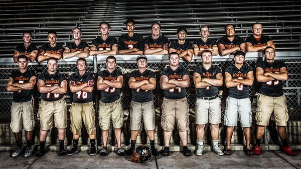 Roseville High School Football Class of 2016 Photo Shoot