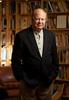 3/22/12 Amherst, MA -- Portrait of Author Joseph J. Ellis March 22, 2012.  Photo by Erik Jacobs