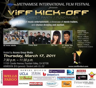 Vietnamese International Film Festival Kick-Off
