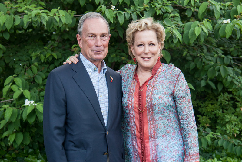 Michael Bloomberg Dinner